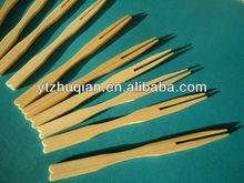 Fruit Serving Forks Of Natural Bamboo