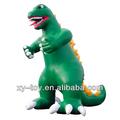 Figuras dos desenhos animados inflável dinossauro, dragão inflável dos desenhos animados, inflável gigante de animais