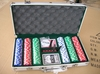 300pcs Casino Style 14g Poker Chip Set With in Alu Case/Casino Poker Set