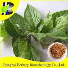TOP Quality plant basil leaf/ocimum basilicum extract powder/p.e.