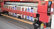 maquinas impresoras de inyeccion de 3.2 metros.tinta solvente,cabezal de DX-5