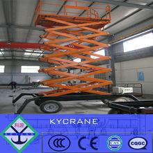 electric hydraulic scissor table lift mechanism