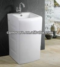 CY G4010 Large Wash Basin Modern Pedestal Basin