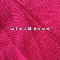 70%polyester 25%rayon/viscose 5%spandex/stretch/lycra knit TR single jersey fabric