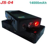 Mini car jump start battery JS04 14000mAh multi-function jump starter for 12V vehicles car eps power bank