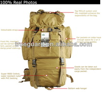 New model durable military backpack solar