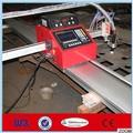 plasma del cnc portátil y cuttimg la llama de la máquina