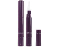 4ML twist cosmetic pen with brush applicator