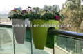 2013 mais populares vasos/plantadores varanda, plástico vasos berçário, plástico pendurar vasos de flores, japonês plantadores, plástico amarelo