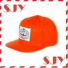 cheap custom embroidery flat brim snapback cap/hat