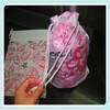 New fashionable plastic drawstring bag