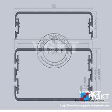aluminum enclosure for led light box