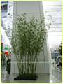 Mais recente tecido Artificial folhas de bambu