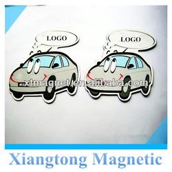 advertising custom logo paper sublimation fridge magnet