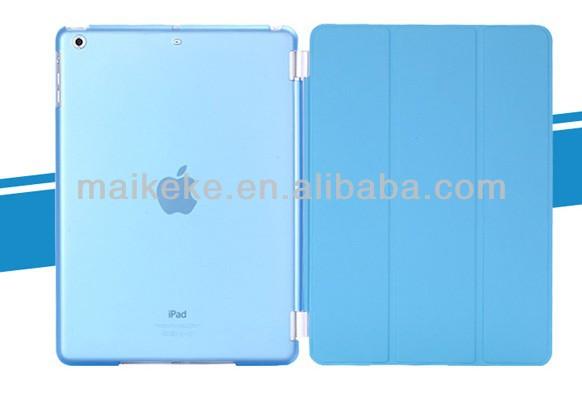 Para aire ipad smart cover--- gratis con lápiz y protector de la pantalla