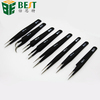 curved straight slant tip fine tweezers for mobile phone/laptop/computer repair