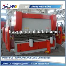 Hydraulic CNC Press Brake,Press Brake Machine with Safe Light Curtain,CE Certified