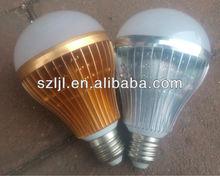China Manufacturer High luminous intensity E27 9W Led Light Bulb 2700K-7000K(CE&RoHs Approval)