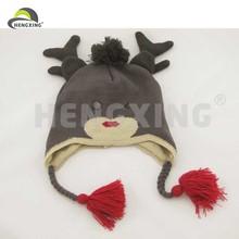 Various warm ski cap free knitting patterns animal hats
