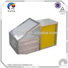 White Mesh Silk Screen Printing Screens aluminum screen printing frames fabrication