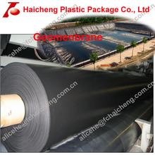 black high density polyethylene geomenbrane pond/dam liners