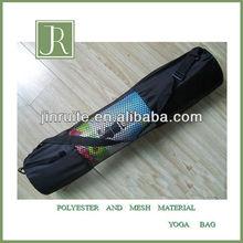 polyester and mesh yoga bag hot sale