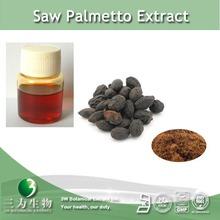 High quality saw palmetto extract / 25%~ 95% fatty acid powder / oil