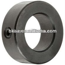 ISO OEM black oxide steel set screw shaft collar, steering shaft ring