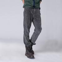 Online clothing store custom soft spring fashion corduroy trousers