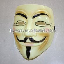 Fashion Beige V For Vendetta Mask With Eye Liner