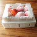 ondulado caixa de embalagem plástica para apple