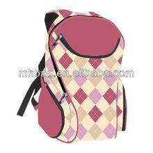 Microfiber Polyester long strap book bag