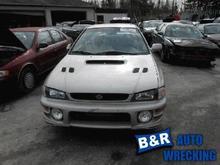 2001 Subaru Impreza Left Side Door Window Regulator, Rear