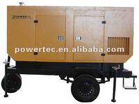 Construction site use portable diesel generator