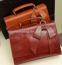 Hollow Office Lady Handbag Bag Wholesale Woman Briefcase Hand Bag