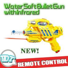 B/bo arma de brinquedo, de água arma de bala mole, absorção de água de cristal arma bala