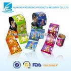 food safty grade automatic scrap printed plastic film rolls for snack