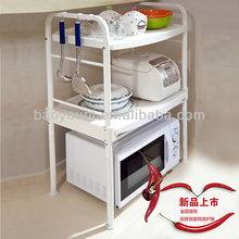 BAOYOUNI kitchen pull out rack metal kitchen storage racks microwave utensils DQ-1210