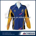 Latest sportswear fashion design polyester jacket for sale