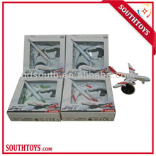 1:600 pull back diecast airliner