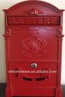 cast iron mailboxes