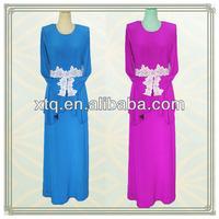 High quality stone knitted abaya fashion 2013