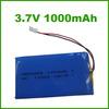 USA 553255 1000mAh lipo battery for flashlight toys portable audio and Tv