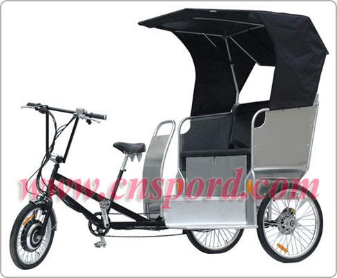 B&Y New Passenger Electric Auto Rickshaw in 500W