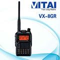Yaesu vx-8gr gps 10km gama interfono inalámbrico