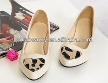 flats shoes fashion dress shoe lady shoe CP6208