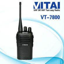 VITAI VT-7800 Security Guard 5w Hotel Two Way Radio