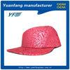 customized sticker snapback hats pink dolphin snapback