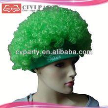 Peruca de cabelo por atacado, Barato colorido partido perucas de cabelo grips grampos