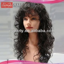 Fashion hot selling synthetic party wigs synthetic party wigs wigs black hair braid